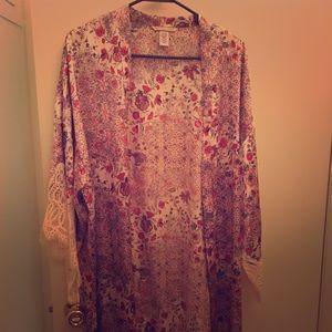 Victoria's Secret Satin Kimono